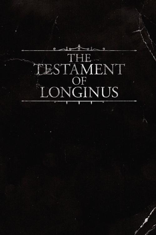 Testament of Longinus Cover